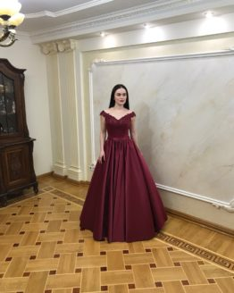 Вечерние платье 0009-2018