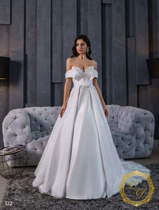 Свадебное платье Lady Di 322-1